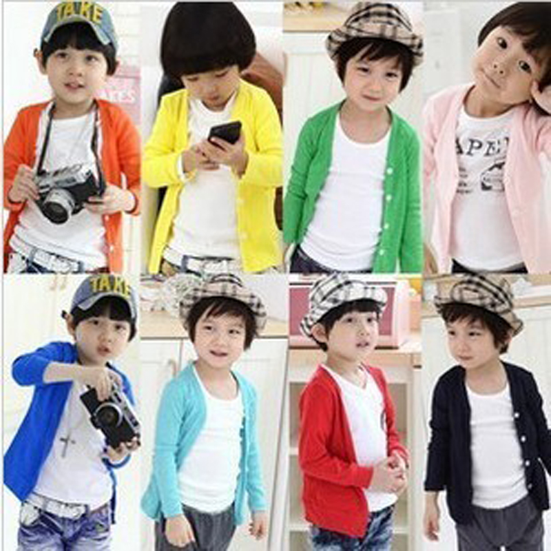 SAILEROAD Candy Solid Color Children Boy T Shirt Clothes Spring Autumn Youngster Kids Sweater Clothing Girls Tops Tees 2-6Years