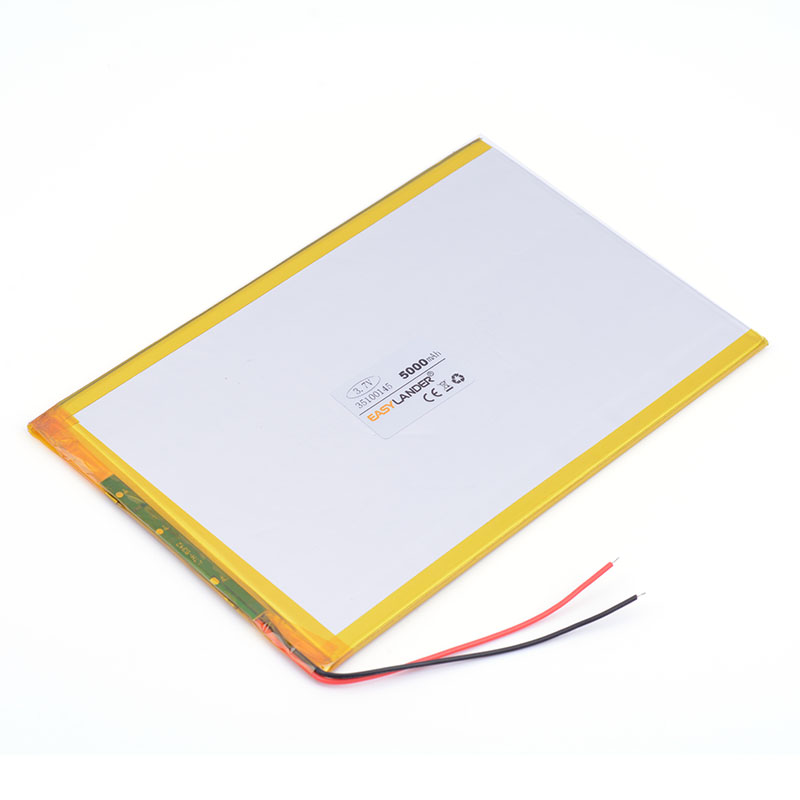 3.7v <font><b>5000mAH</b></font> 35100145 polymer lithium ion battery Li-ion battery for tablet pc 9.7 inch 10.1 inch <font><b>speaker</b></font> laptop cell phone image
