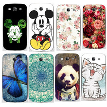 For Samsung S3 Case Silicon S3 i9300 Pattern SiliconeCover Case For Samsung Galaxy S2 Case Soft Cover For Samsung Galaxy S3
