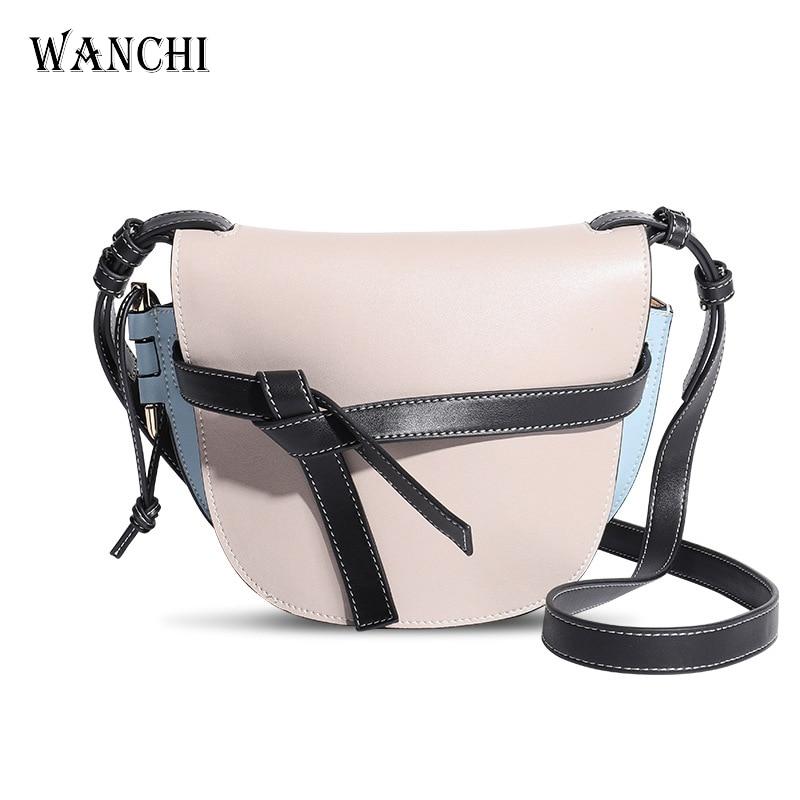 Genuine Leather Luxury Handbags Women Bags Designer Purses and Handbags Crossbody Bags for Women Shoulder Messenger Patchwork