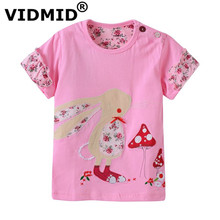 VIDMID Girl t shirt big Girls tees shirts children blouse t shirts big sale super quality