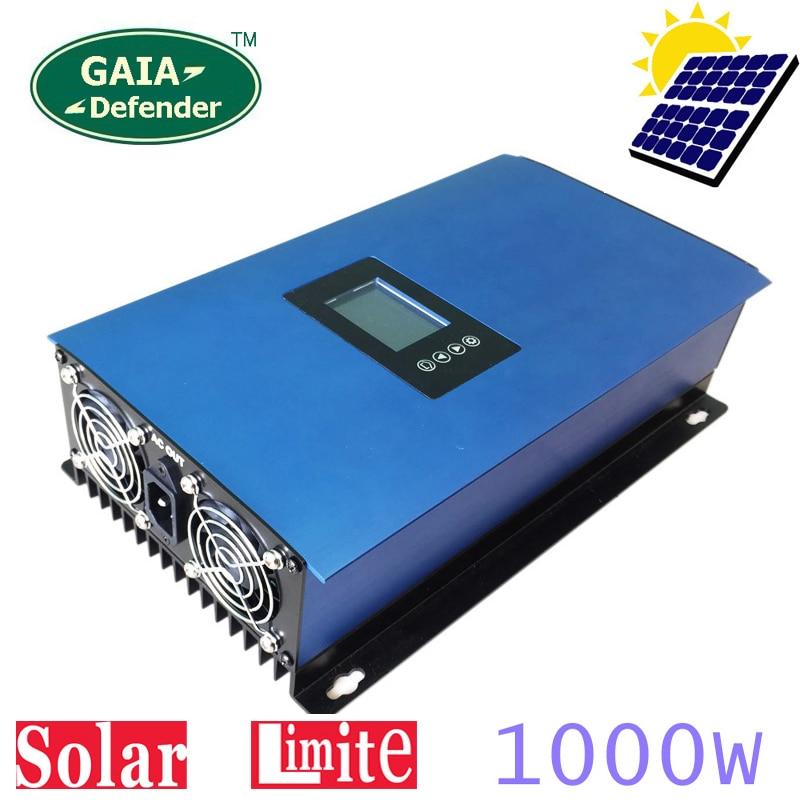 1000W Solar Panels Battery on Grid Tie Inverter Limiter for Home PV Power System DC 22-65V/45-90V AC 90V-130V 190V-260V