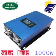 1000 Вт солнечных панелей Батарея на сетке галстук ограничитель инвертора для дома PV Мощность Системы DC 22-65 В/45-90 В AC 90 В-130 В 190 В-260 В