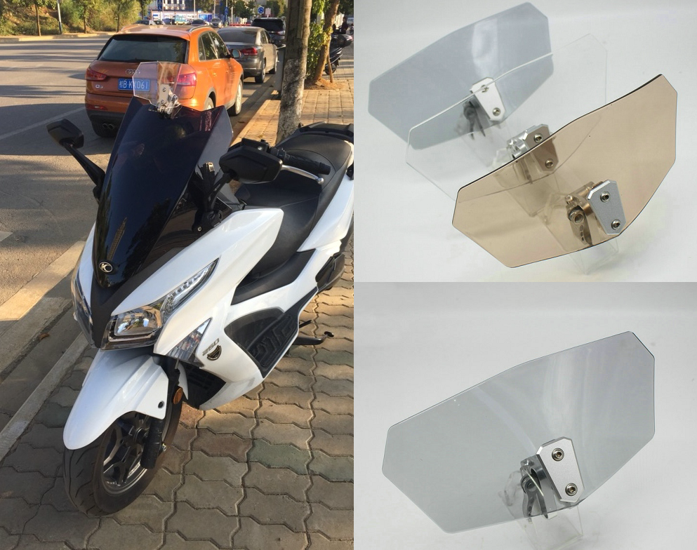 Motorcycle Windscreen Windshield Spoiler Wind Deflector