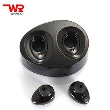 WPAIER 2017 TWS-K2 mini wireless Bluetooth headphones Binaural sports bluetooth mini headset Portable charging box stereo HQ