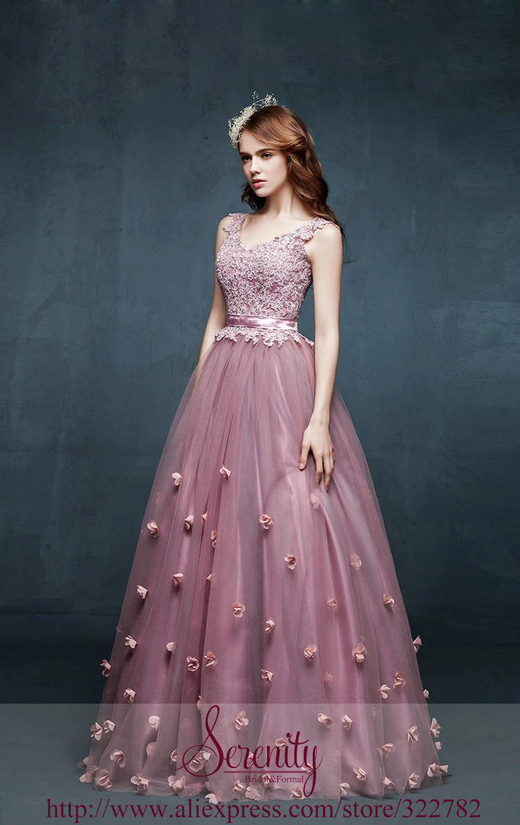 070bc90347a1 2015 New Style Ball Gown V Neck Floor Length Long Red Bean Paste ...