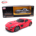 Licensed 1:18 Lit Light RC Car Remote Control Toys Machines On The Radio Controlled Toys For Children Boys Gifts SLS AMG 54100