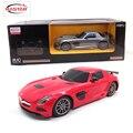 Licensed 1:18 luz ilumina control remoto de coches rc toys máquinas en la radio controlada toys para niños niños regalos sls amg 54100