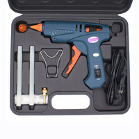 Glue Gun Tools Kit EU US plug 100W ON/OFF Switch Hot Melt Glue Gun Adhesive Gun for 11mm Glue Sticks Hot Glue Gun