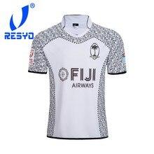 RESYO 2018 nuevo Rugby Espana Jerseys 2019 rinocerontes ellos Fiji Rugby  camisetas vaqueros gallos camisas d3180ac1d8568