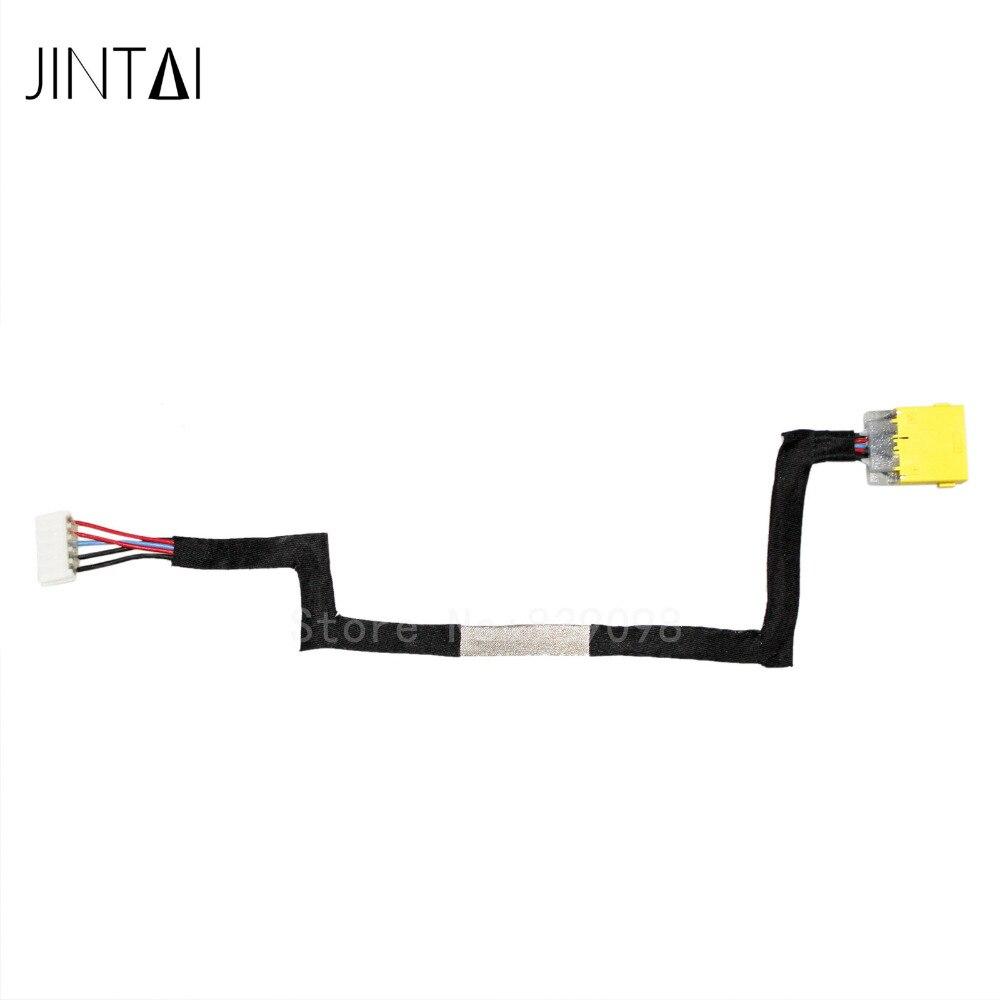 Lot de NOUVEAU Jintai DC POWER JACK SOCKET CONNECTEUR W/CÂBLE Pour LENOVO IdeaPad S500 S500T