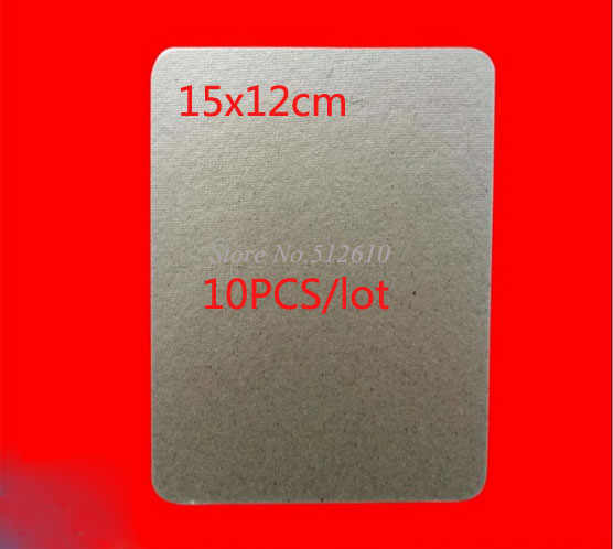 Used For Galanz Microwave Ovens Mica Plate US Samsung LG Haier Thick Mica Sheet 15x12cm 10PCS/lot Wholesale Discount