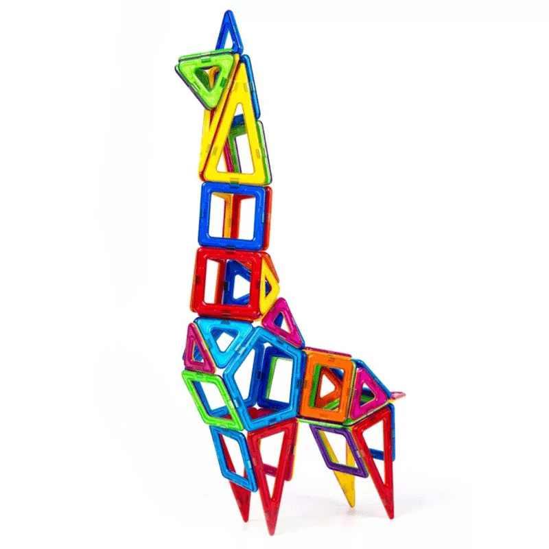 Mylitdear Магнитная Строительство Мини Размеры Магнитный конструктор Сделай Сам Магнитный конструктор строительство 3D магнит игрушки для детей