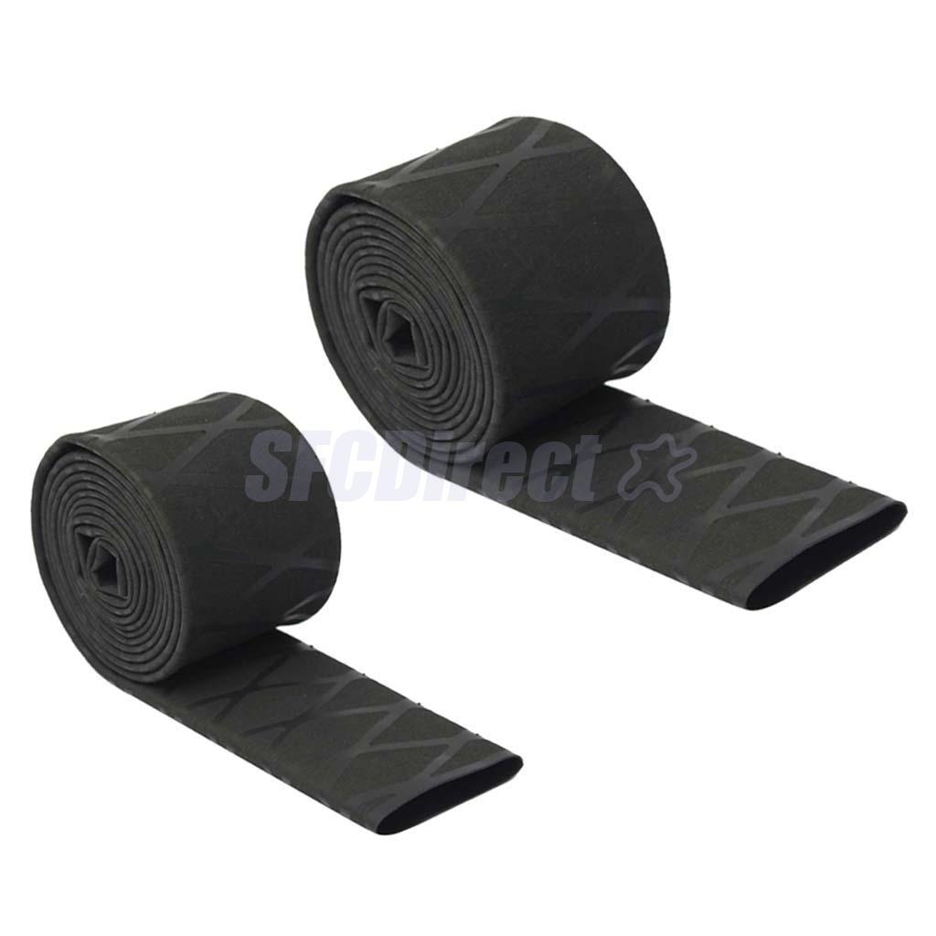 Black Non Slip Textured Grip Heat Shrink Tubing