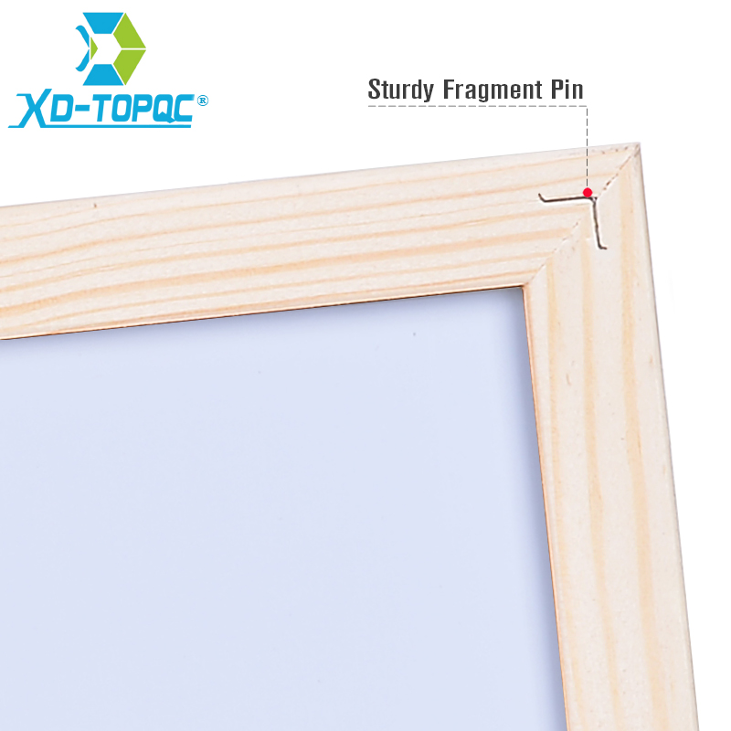 XINDI 15*30cm Mini Kids Whiteboard Dry Erase Original Pine Wood ...