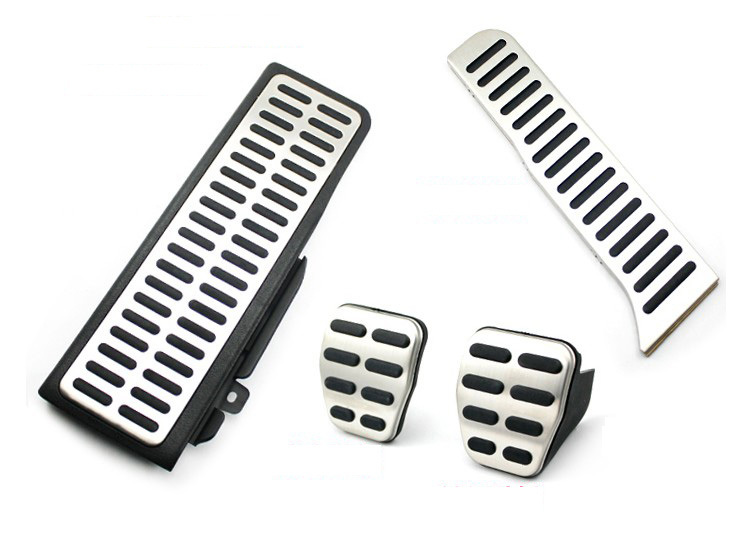 Stainless Steel Manual Transmission MT Pedal For VW Passat