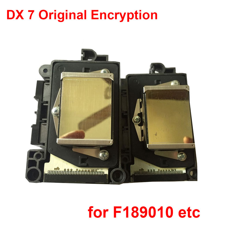 Hot Oringinal DX7 Printhead F189010 Printer Head for EPSON B300 310 B500 510 B308 508 B318 518 EPSON R300 Encryption 1 piece first locked dx7 print head printhead f189010 for epson b310 b510 b318 b518 b300 b500 b308 b508 printer head