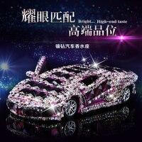2016 NOW HOT Car Model Car Perfume Diamond Models Set Auger Car Perfume Perfume Luxury Furnishing