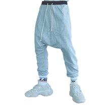 Брендовые мужские штаны в стиле хип-хоп, шаровары для бега,, мужские брюки с заниженным шаговым швом, мужские мешковатые спортивные штаны, мужские брюки, Hombre XXL