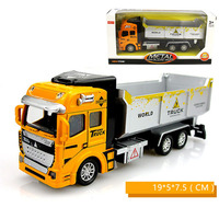 Diecast Excavator Truck Model Boys Toy 1 48 Alloy Loader Dumper Engineering Vehicles Car Model Toys