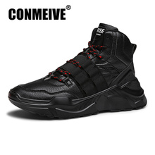 Fashion Breathable Designer Male Adult Sneakers Winter Casual Mens Shoes Lace-up Man Trainers Brand Luxury Hot Sale Shoes Men