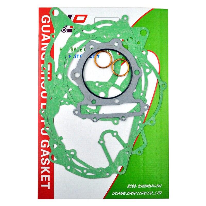 LOPOR For Honda XR 600 Motorcycle Engine Cylinder Top End Crankcase Cover Complete Gasket Kit Set