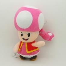 "10/Лот Новая Супер Марио Toadette 6,"" Детская плюшевая кукла Фигурка игрушка кукла"