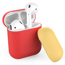 case for airpods silicone/clean/skin TPU apple accessories dust guard/off white transpare 17colors
