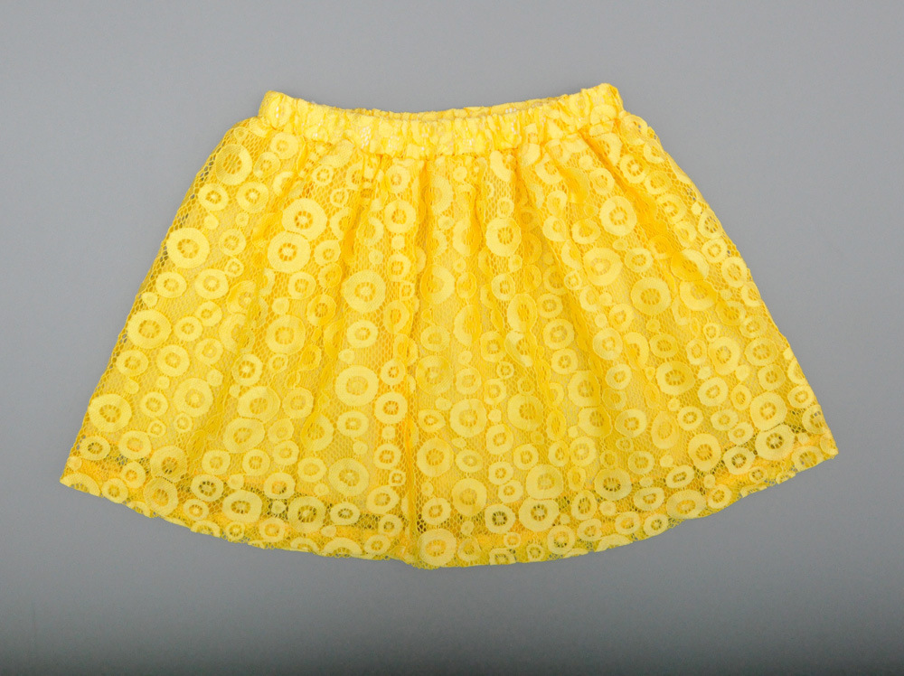 b77c2c250f1f Detail Feedback Questions about Kids Toddler Girls Clothing White  Sleeveless Summer Tops Yellow Baby Girl Lace Flowers Dress Skirts Clothes  Outfit Suit Set ...