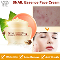Powerful Multi Effect Snail Essence Cream Collagen Eliminates wrinkles Remove Acne Scar Whitening Anti aging Face Care Day Cream