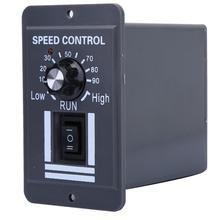 ШИМ регулятор скорости щеточного двигателя 12 60 В постоянного тока 40 А, ler CW CCW, реверсивный переключатель X1040 для управления и остановки вращения вперед/назад