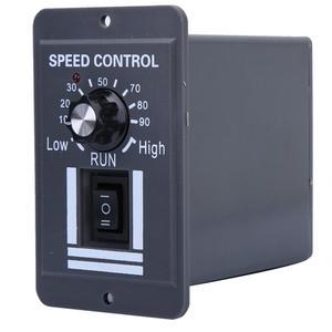 Image 1 - ШИМ регулятор скорости щеточного двигателя 12 60 В постоянного тока 40 А, ler CW CCW, реверсивный переключатель X1040 для управления и остановки вращения вперед/назад