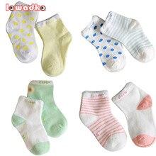 Pairs новорожденного = мальчиков короткие девочек носки хлопок шт./лот и