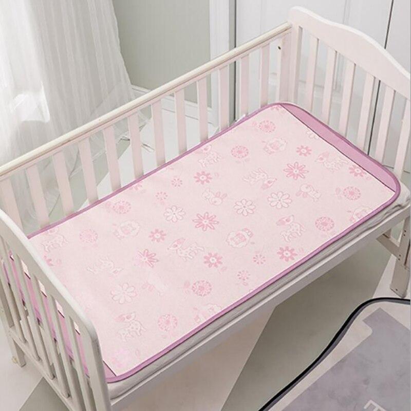 Baby Bed Mat Cool Mat Bedding  Mattress Cot Crib Summer Cool Mat Cartoon Bed Sheet Baby Care BHS017