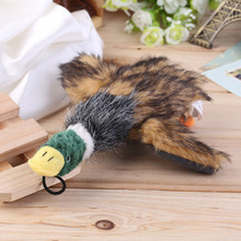 2015 Classic Dog Toys Stuffed Squeaking Duck Dog Toy Plush Puppy Honking Duck for Dogs pet chew squeaker squeaky toy