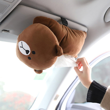 New High Quality Universal Car Armrest Box Tissue Creative Cartoon Cute