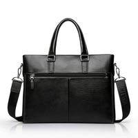 Designer brand cowhide men genuine leather handbags man leather business briefcase laptop bag men messenger bags