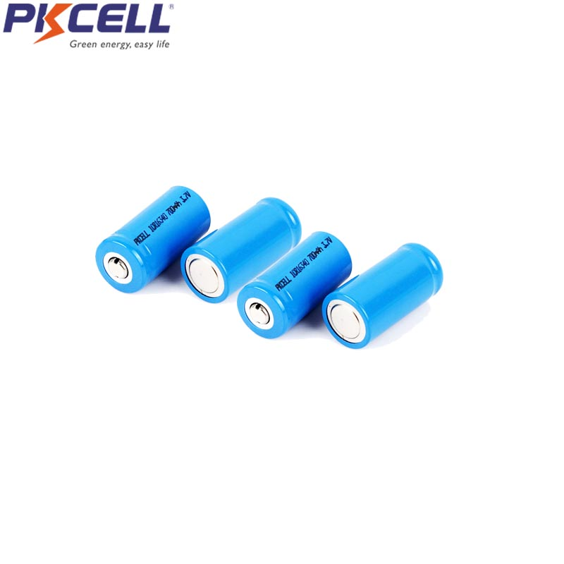 Liion Li ion i16340 ICR16340 Battery CR123A Rechargeable Batteries 3.7V CR123 Batteria for Laser Pen LED Flashlight Button Top