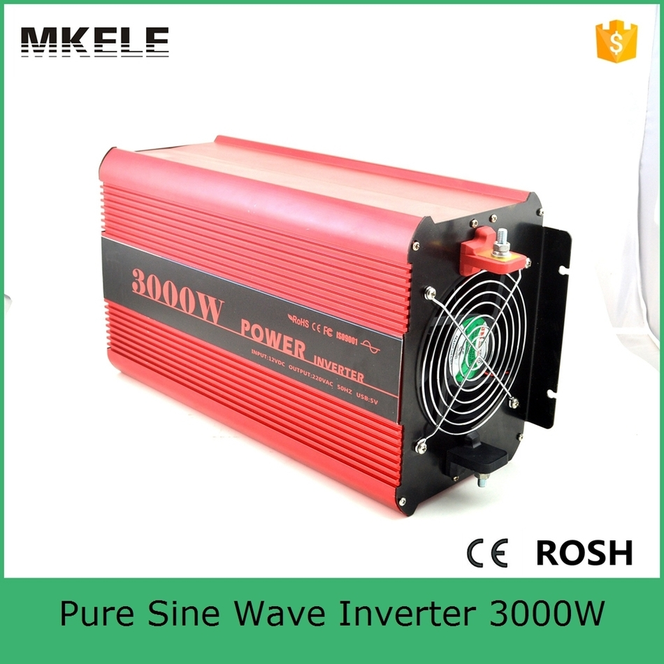 цена на MKP3000-122R high quality dc ac off grid type pure sine wave inverter 12v 220v 3000w power inverter with CE rohs