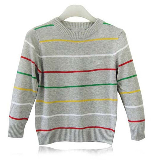 a0b9a0223458 Baby boys sweater Stripe new fashion 2015 Spring Autumn style kid ...
