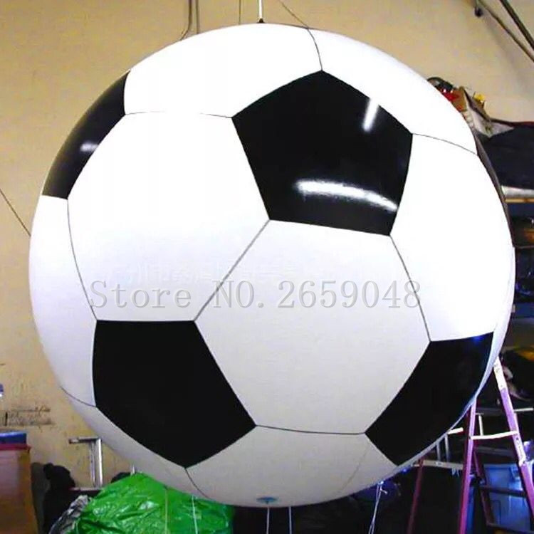 Free Shipping Free Print Large Basketball/Football Inflatable PVC Football Balloon Advertising Activity Printing Air Model 5 5m 18ft long inflatable killer whale balloon sea animal model for hanging display with the free shipping