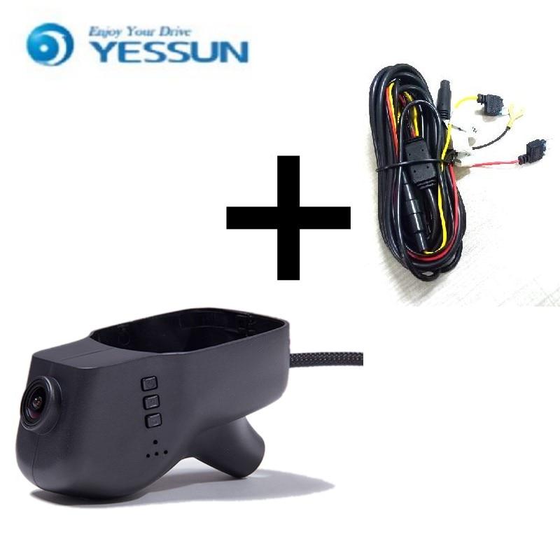 YESSUN For VW Touareg 2011-2016 Car DVR Mini Wifi Camera Driving Video Recorder Novatek Registrator Dash Cam Original Style rns510 rcd510 car rgb reversing video camera for vw tiguan a4 a7 s6 q5 a6 a5 2011 2012 5nd 827 566 c 5nd827566c