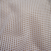 Classic Sport Clothes Lining Mesh Fabric High Quality Polyester Inelastic Fabric Plain Dyed Multifunction Sewing Fabric