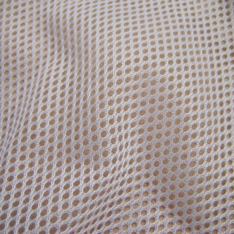 1 yard klassieke sportkleding voering mesh stof hoge kwaliteit polyester inelastische stof effen geverfd multifunctionele naaien stof