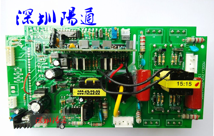 Maintenance Fittings of ZX7-200/250 Board Single Tube IGBT Belt Inverter Welding Machine Circuit Board zx7 250s single tube igbt double voltage dc welding inverter upper board control board circuit board maintenance replacement