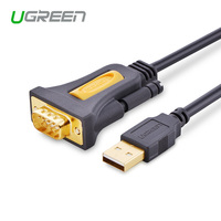 Ugreen High Quality USB2 0 To RS232 COM Port Serial PDA 9 DB9 Pin Cable Adapter