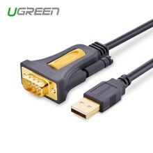 Ugreen Высокое качество USB2.0 к RS232 COM порту последовательный PDA 9 DB9 pin Кабельный адаптер для ПК PDA GPS