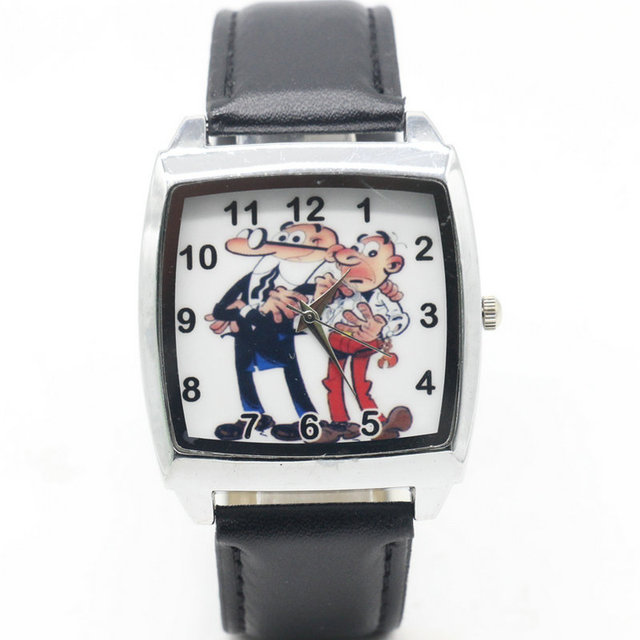 Cartoon Children Mortadelo y Filemon Watch Fashion Lovely Cute Kids Watches for