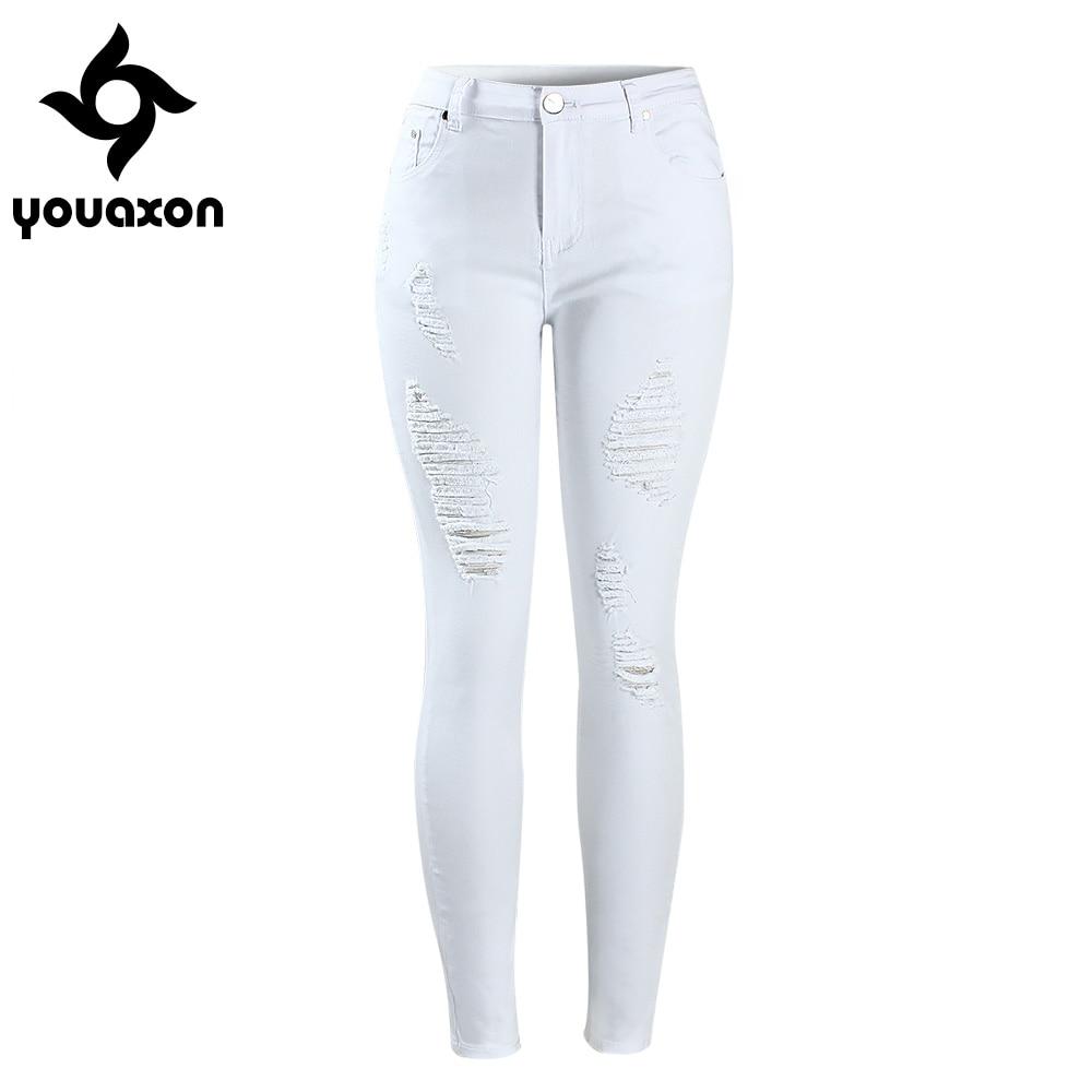 Online Get Cheap White Skinny Jeans Women -Aliexpress.com ...