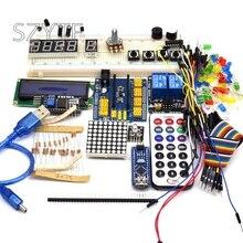 למתחילים starter ערכת ננו 3.0 DIY ערכת עבור Arduino IDE עם מקרה